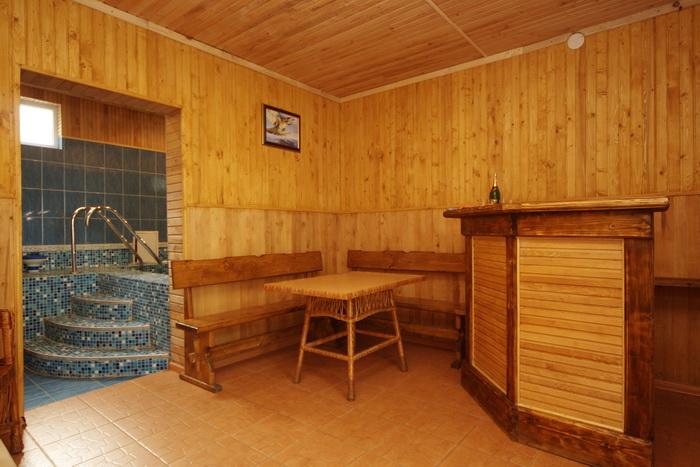 Дизайн саун и комнат отдыха