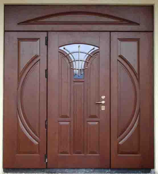 двери двойные входные массив цена