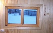 Окна для бани: выбор и монтаж МастерСтрой