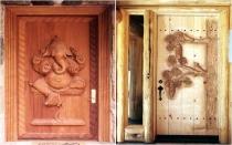 монтаж дверей в бане