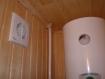 система вентиляции в парилке бани
